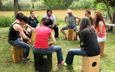 Percusión en la Naturaleza 10 de Junio